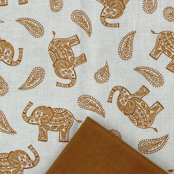 Half Metre Heaven: Lewis and Irene 'Paisley Elephant' with Biscuit