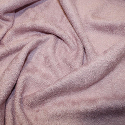 Bamboo Towelling: Cut to Order by the 1/2m: Rose Pink