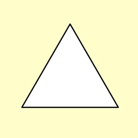 "'Hexiform': 1""(25mm) Equilateral Triangles for EPP x 60"