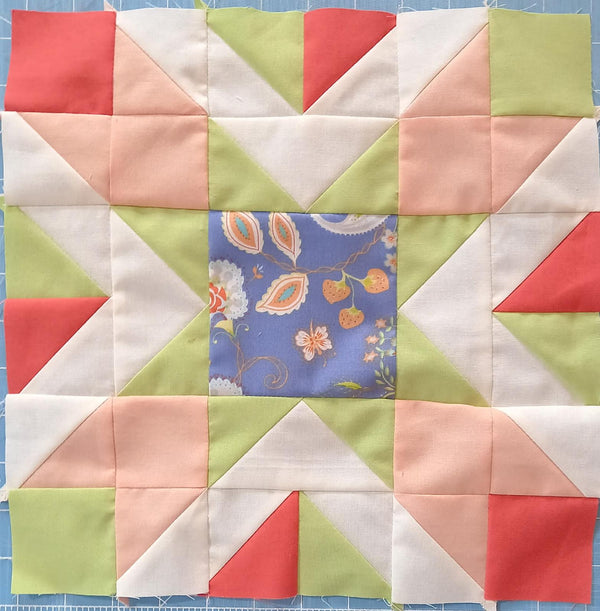 Square Dance Quilt Kit: Floral Option