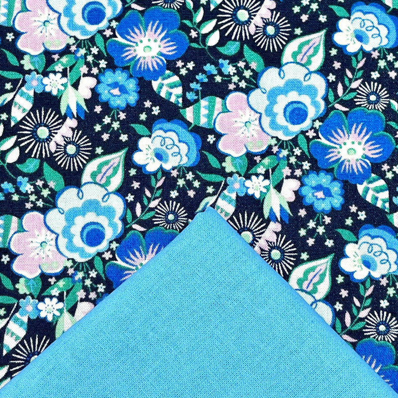 Half Metre Heaven: Liberty 'Mini Lindy Pop' with Cyan