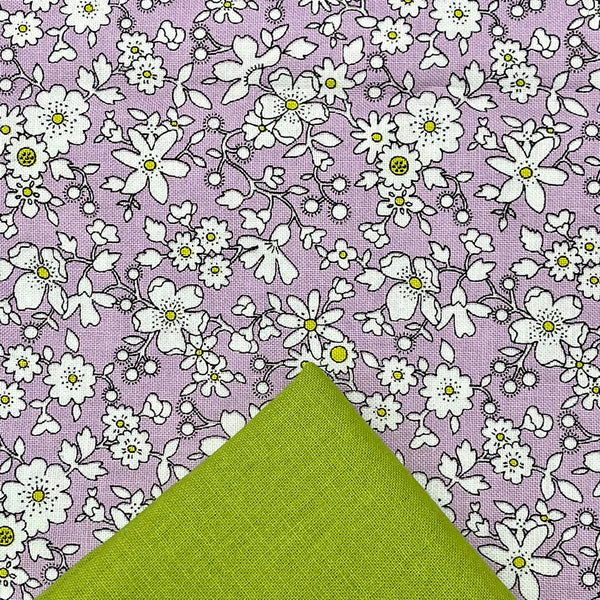 Half Metre Heaven: Liberty 'Maddsie Silhouette' with Chartreuse