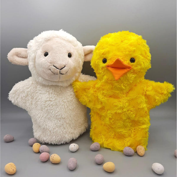 Jo Carter 'Lamb and Chick Hand Puppets' Kit