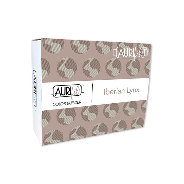 Aurifil Color Builder Collection: Iberian Lynx