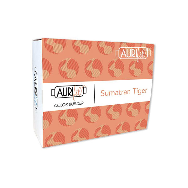 Aurifil Color Builder Collection: Sumatran Tiger