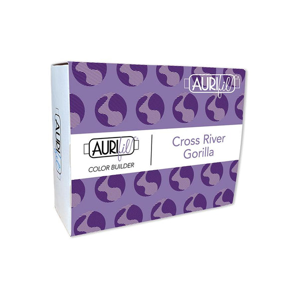 Aurifil Color Builder Collection: Cross River Gorilla