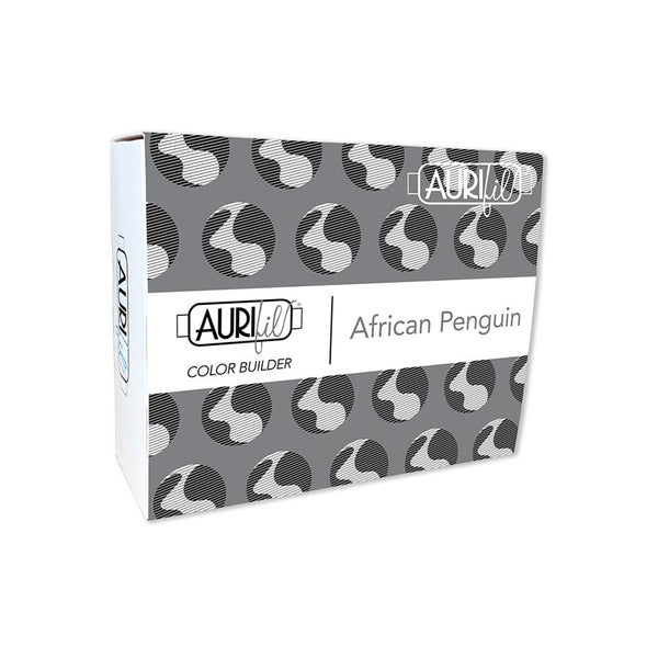 Aurifil Color Builder Collection: African Penguin