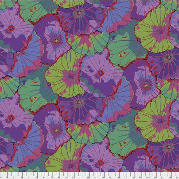 "KFC 2021: 108"" Wide Backing: Lotus Leaf PURPLE: Cut to Order by the 1/2m"