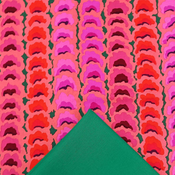 Half Metre Heaven: Kaffe Fassett Collective 'Garlands' Red with Emerald