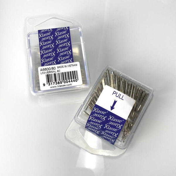 Klasse Sewing Machine Needles: UNIVERSAL 80: Pk of 100