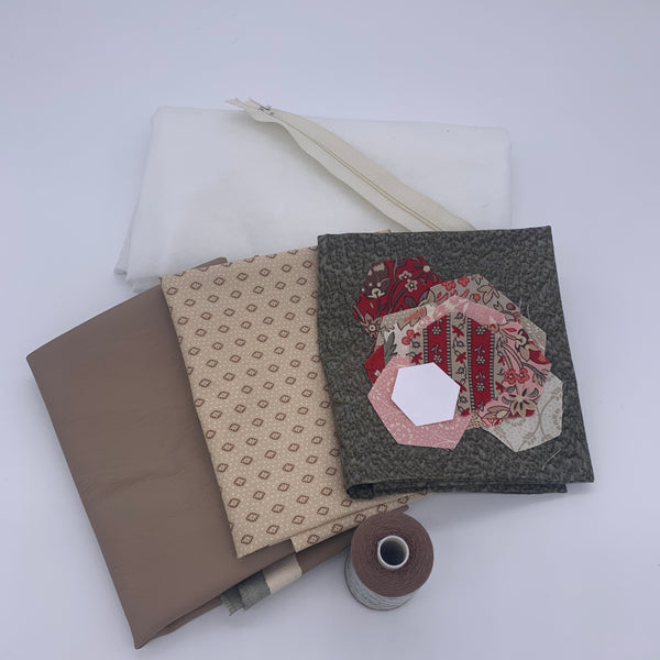 Two Tone EPP Zip Pouch Kit: Chafarcani Kit | Natasha Makes