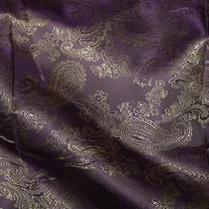 Jacquard Paisley: Cut to Order by the METRE: Lilac