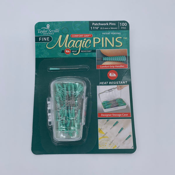 Taylor Seville Magic Pins - Patchwork: 100 pins Accessory | Natasha Makes