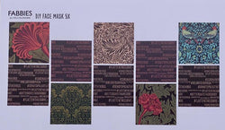 William Morris Face Mask Kit - Option 2 Kit | Natasha Makes