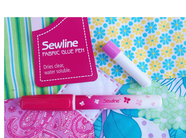 Sewline Glue Pen - Water Soluble with Blue Refill Accessory | Natasha Makes