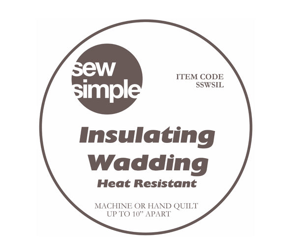 Sew Simple Super-Soft Insulating Wadding Fabric | Natasha Makes