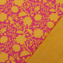 Half Metre Heaven - Tula Pink: Wildflower Snapdragon with Gold Batik