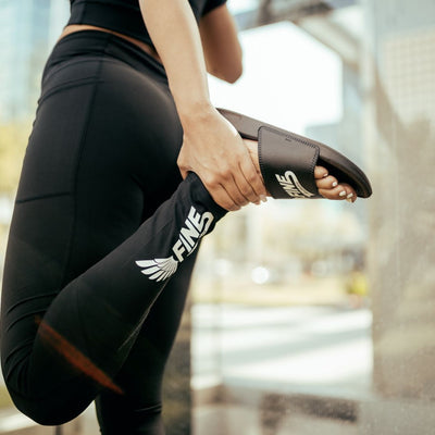 'Get Your Wings' High Waist Leggings With Pockets