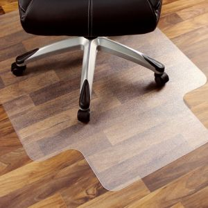 Direct Wicker Office Chair Mat for Hard Floor with Rectangle or Lip Shape