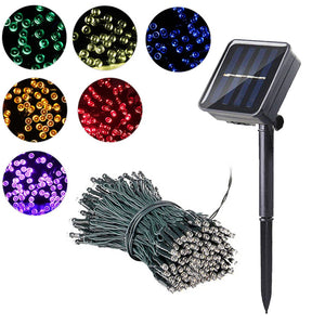 Solar Powered Lamp Garden 7m/12m/22m Outdoor Solar LED String Lights Waterproof Fairy Christmas Party Garland Decor Home Street