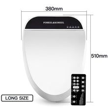 Load image into Gallery viewer, FOHEEL smart toilet seat cover electronic bidet cover clean dry seat heating wc intelligent toilet seat cover