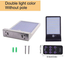 Load image into Gallery viewer, Upgraded 48 leds Solar Light Color Adjustable With Controller Three Modes Waterproof Lamp Lights For Outdoor Garden Wall Street