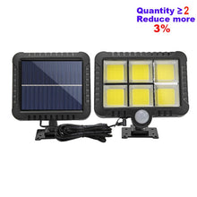Load image into Gallery viewer, 120LED COB Solar Light Outdoor Motion Sensor Wall Light Waterproof Garden Lamp Spotlights Emergency Pathway Street Security Lamp