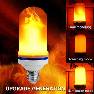 Solar 33LEDs Lawn Dancing flame Torch Lights radar led Tiki lamp indoor outdoor street camps wall Flame Lamp Flickering bulb dan