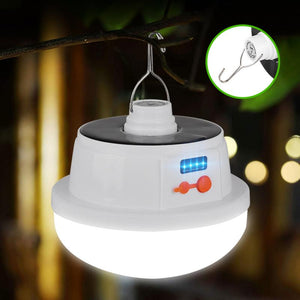 Hot New Solar Circular Hooking Remote Control Lamp LED Outdoor/Indoor Solar Lamp Camp Garden Lighting Wireless Powered Light