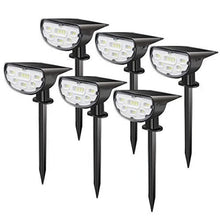 Load image into Gallery viewer, SHOPLED 1/2/6PCS Led Solar Light Outdoor Garden Landscape Lawn Lamp P67 Solar Powered 2 In 1 Wireless Decoration Wall Lamp