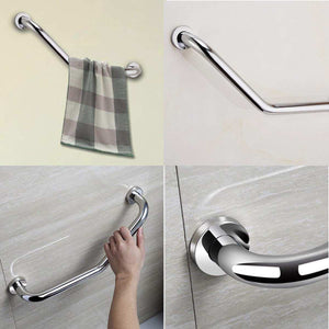 Stainless Steel Grab Bar Bathtub Arm Safety Handle Grip Bath Shower Tub Grab Bar Bathroom Accessories