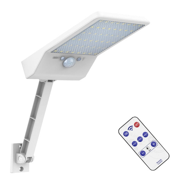 800lm 48 leds Solar Lamp  Light For Outdoor Garden street Wall Yard flood Security Lighting With Adustable  Angle