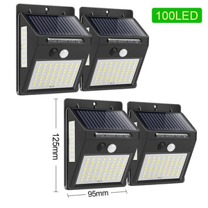 LED Solar Light Outdoor Solar Lamp PIR Motion Sensor Wall Light Waterproof Solar Powered Sunlight for Garden Decoration