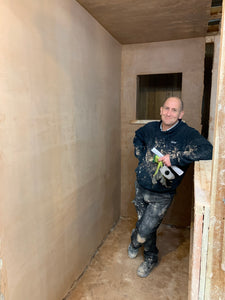 Get the Plastering done before Xmas!