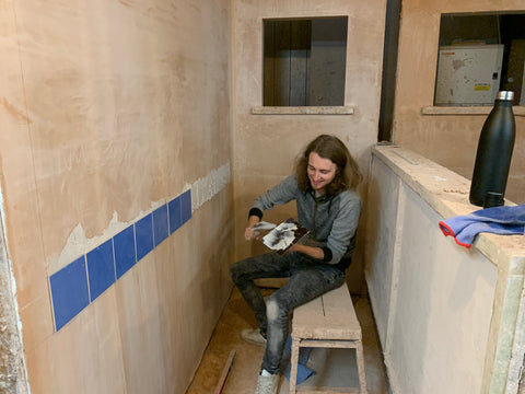 Gorton man does tiles