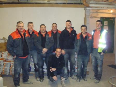 Corus Training Tiling Course