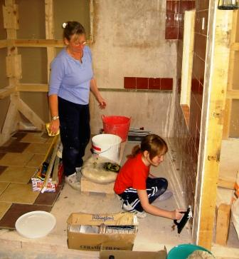 Tiling Course for Families