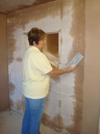 Womens plastering course