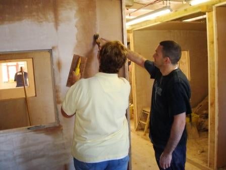 Plastering course for women