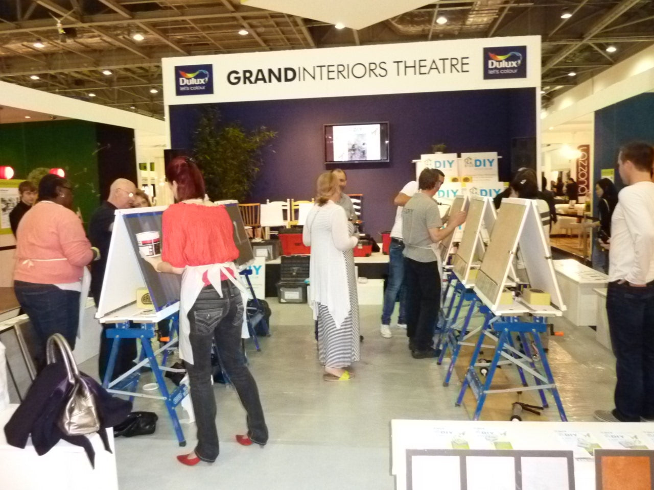 The DIY School at Grand Designs Live London