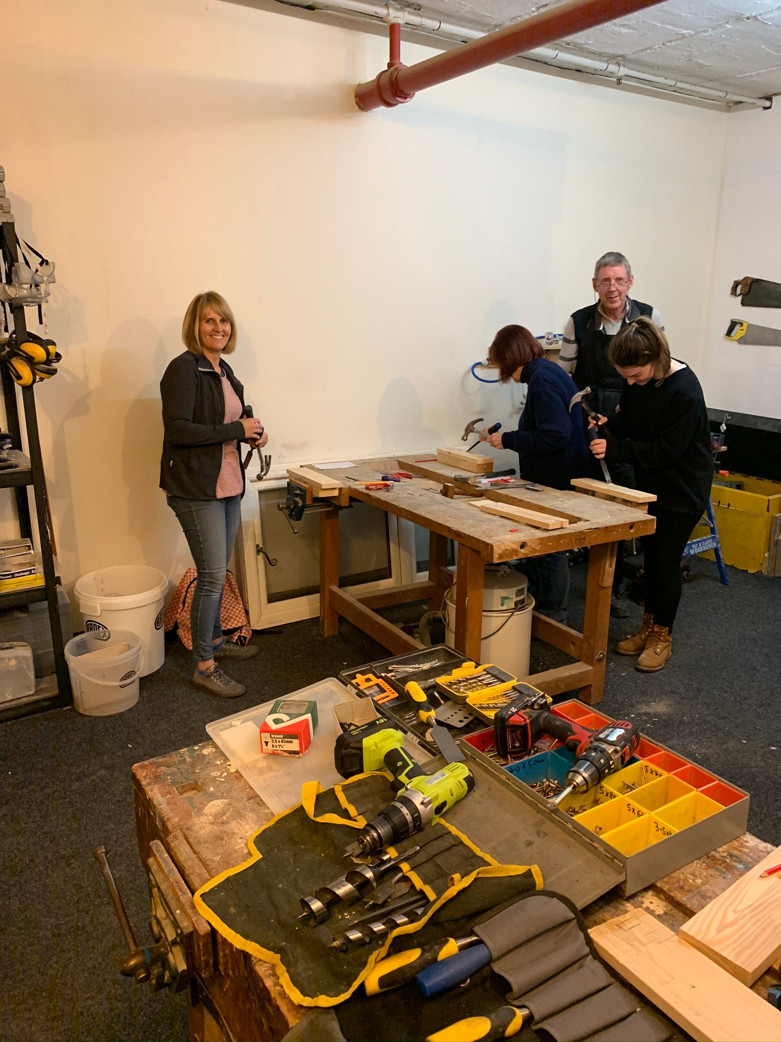 Beginners DIY Course - Hand & Power Tools 1 Day