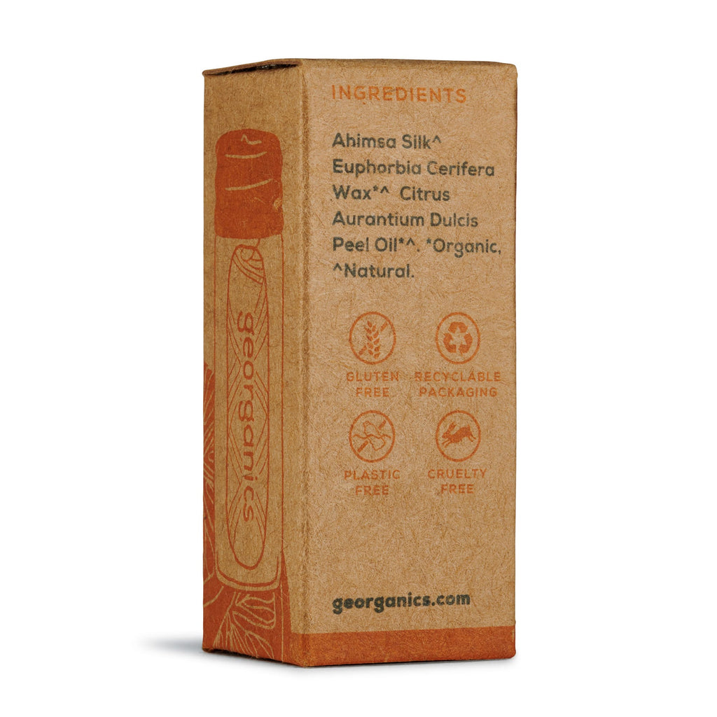 Georganics Natural Silk Floss - Orange