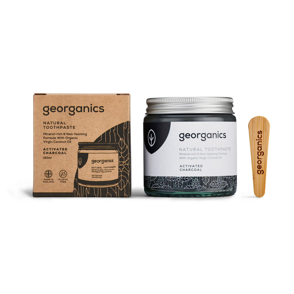 Georganics Natural Toothpaste - Activated Charcoal