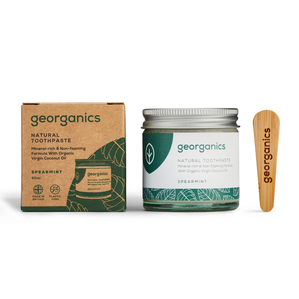 Georganics Natural Toothpaste - Spearmint