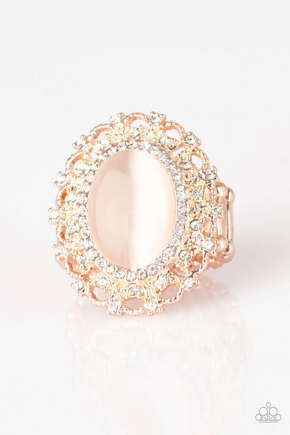Paparazzi Baroque The Spell Rose Gold Paparazzi Bling By Christina