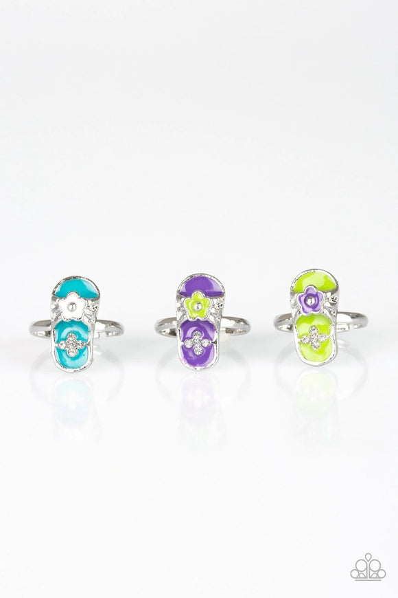 Paparazzi Starlet Shimmer Flip Flop Rings