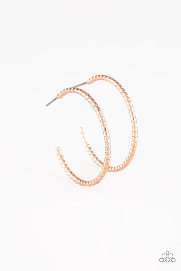Paparazzi HOOP, Line, and Sinker - Copper