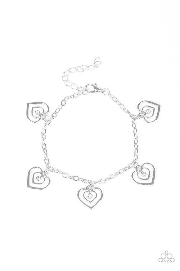 Paparazzi Unbreakable Hearts - White