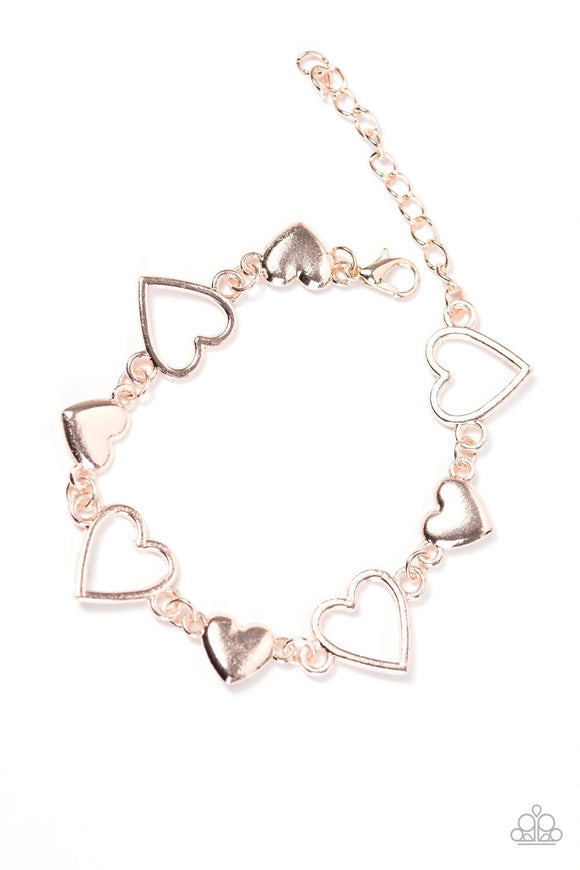 Paparazzi HEART To Handle - Rose Gold