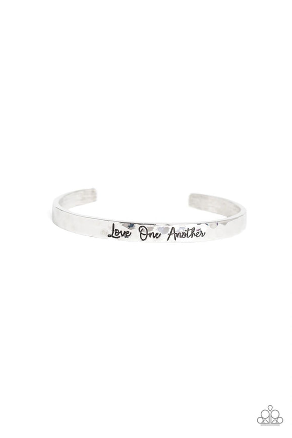 Paparazzi Love One Another Cuff - Silver